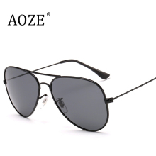 AOZE Classic Fashion Polarized SunglassesUV400 Men/Women Colorful Reflective Coating Lens Eyewear Accessories Sun Glasses 3026