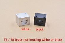 tornillo aluminio T8 negro