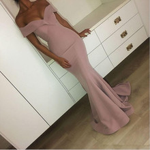 Pink Mermaid Prom Dresses 2020 Diepe V hals Lace Party Maxys Lange Prom Gown Avondjurken Robe De Soiree
