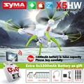 SYMA X5HW FPV RC Quadcopter Drone con Cámara de WIFI 2.4G 6-Axis VS Syma X5SW Actualiza RC Helicóptero con 6 + 5 en 1 Cable