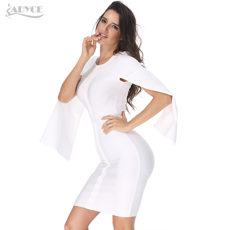 Bodycon Sleeve Dress Vestidos