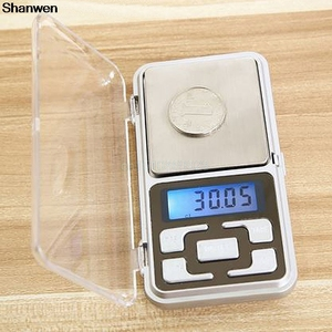 Pocket Digital Jewelry Scale 500g/0.1g Gram Balance Weight Electronic with ABS keys