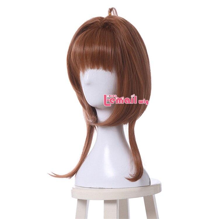 L-e-mail peruca cardcaptor sakura kinomoto sakura cosplay