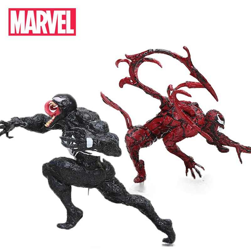 14.5-27 cm Estúdios Marvel Brinquedos de Ferro o ARTFX + ESTÁTUA 1/10 Scale PVC Action Figure Venom Spiderman Carnificina collectible Modelo Toy