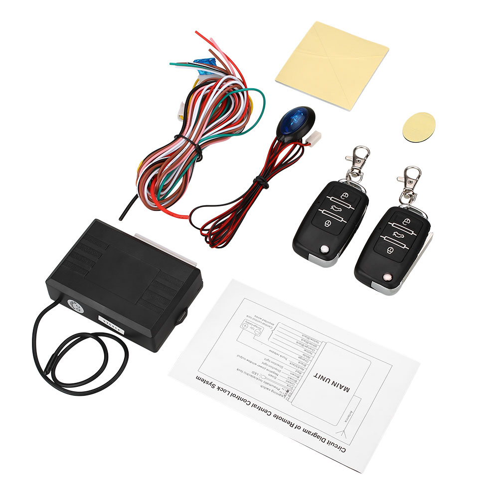 Car Vehicle Central Door Locking Conversion Kit Keyless Entry Nissan Almera Wiring Diagram System Fit For Vw