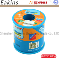 MECHANIC High quality Low temperature Lead free Solder Wire Soldering tin wire 400g Sn42/Bi58 Soldering Wire Roll