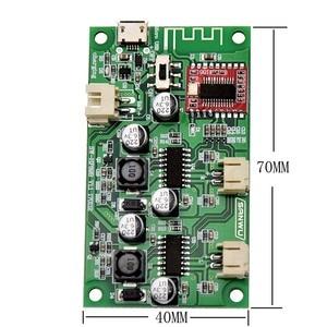 Image 3 - 2x6 w dc 5 v 3.7 v alto falante modificado estéreo bluetooth amplificador placa pode conectado bateria de lítio com gestão de carga A8 020