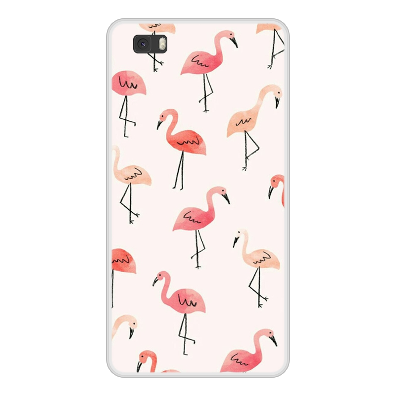 Case For Huawei P8 P 8 Lite Lite Soft Silicone TPU Pattern Printing Phone Cover Coque For Huawei P8lite ALE L21 Case