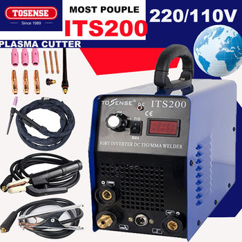 цена TIG/MMA IGBT WELDING MACHINE 3.2MM WELDING ROD 200A welder &accessories 110/220V онлайн в 2017 году