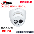 2017 Newest arrival Dahua IPC-HDW4431C-A 4MP Full HD Network IR Mini Camera POE Built-in MIC cctv network dome DH-IPC-HDW4431C-A