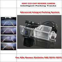 High Quality 3089 Chip Intelligentized Rear Camera For Alfa Romeo Giulietta 940 2010 2013 NTSC PAL RCA AUX HD SONY 580 TV Lines