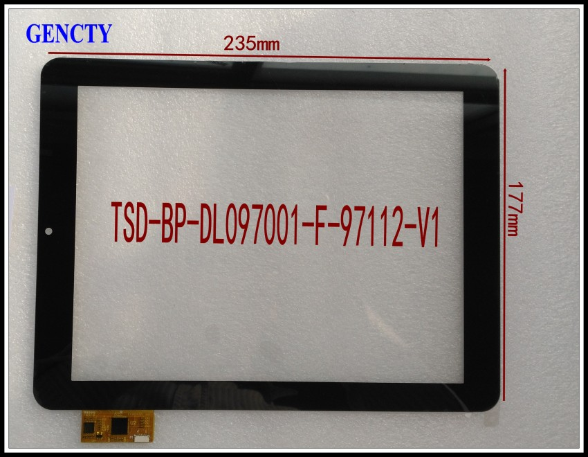 ФОТО touch screen for  TSD-BP-DL097001-F-97112-V1
