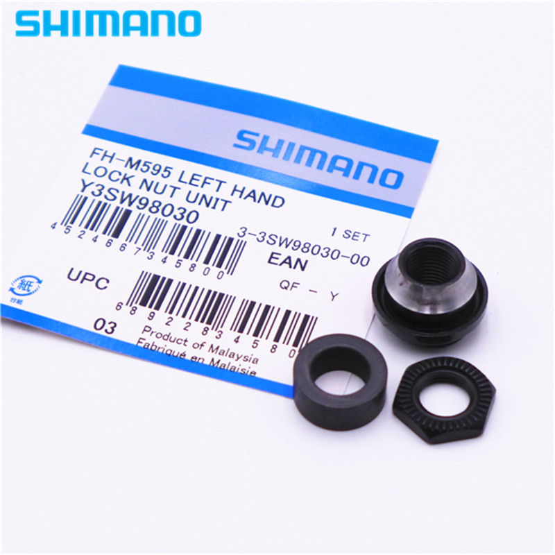 SHIMANO Y3SW98030 Deore M595/M615/M6000 Freehub Left Hand Lock Nut Unit FH-M6000
