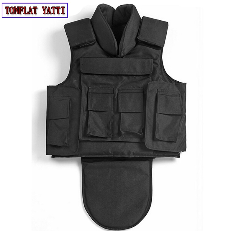 Chalecos antibalas militar tactical vest bulletproof UHMWPE colete balistico NIJ IIIA neck and neck protective ballistic
