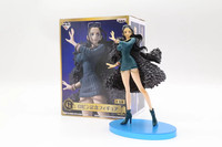 18 cm Anime One Piece POP Nico Robin Miss Allsunday 20th Anniversary Azul Roupas Ver PVC Modelo Figura Ação de Cobrança boneca