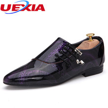 New High Quality Mens Dress Shoes Oxfords Leather Pointed Toe Classic Formal Business Flats Elegant Gentleman Wedding Men Shoes