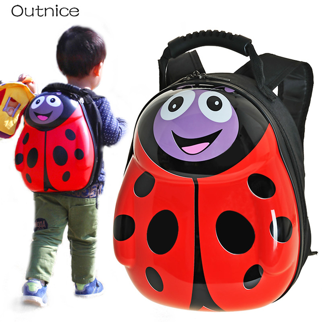 c7400facd9af GIFT Children school bags 3D eggshell cartoon animal kids character  backpacks PVC Hard toddler backpack for kids boy and girls