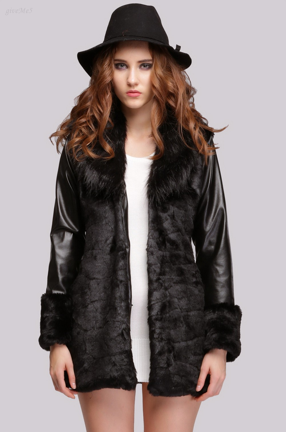 Popular Leather Fur Coats-Buy Cheap Leather Fur Coats lots from