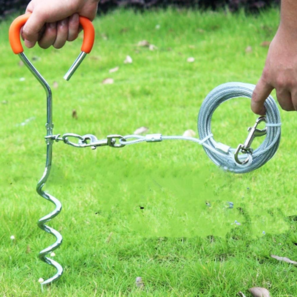 1 x Gazebo Tie Down Corkscrew Stake