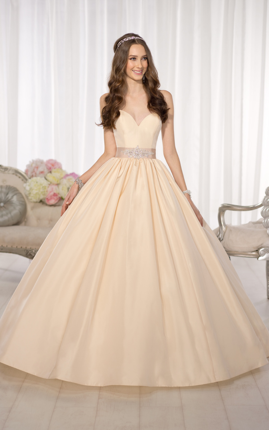 champagne colored dresses for bridesmaids champagne colored wedding dresses Images Of Champagne Long Dress The Fashions Paradise