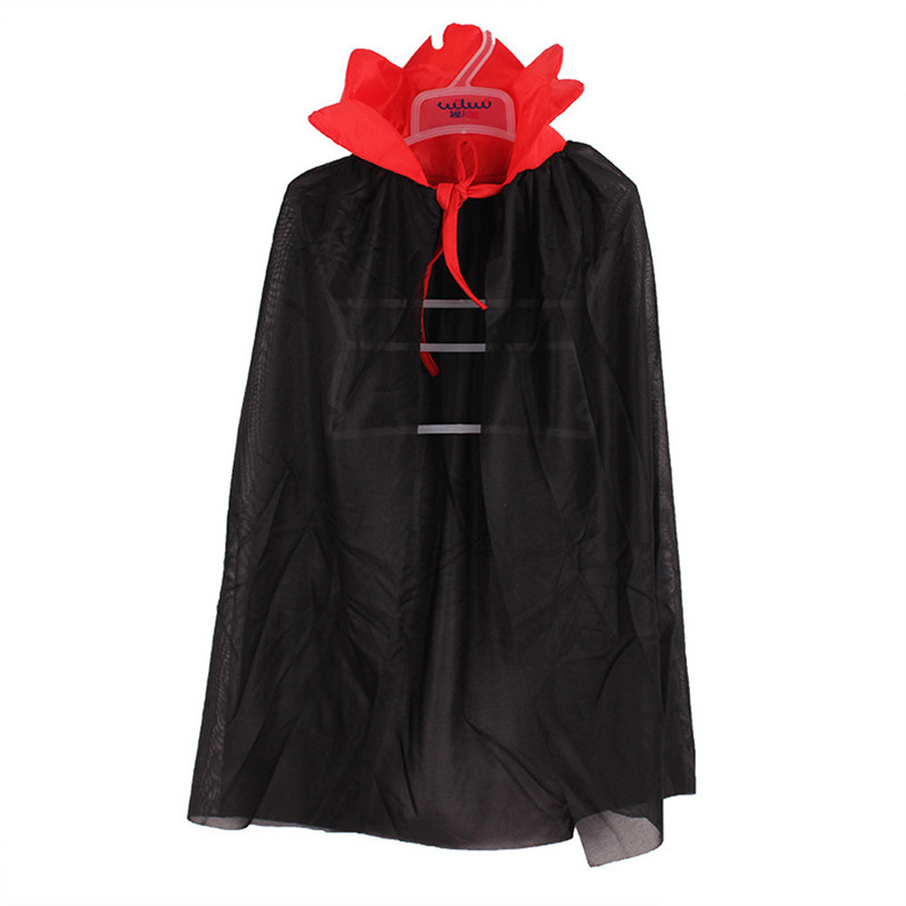 Капюшон Для девочек и мальчиков смерть плащ волшебника ведьма мастер накидка халат Fantasia Infantil костюм на Хэллоуин для Для детей 30