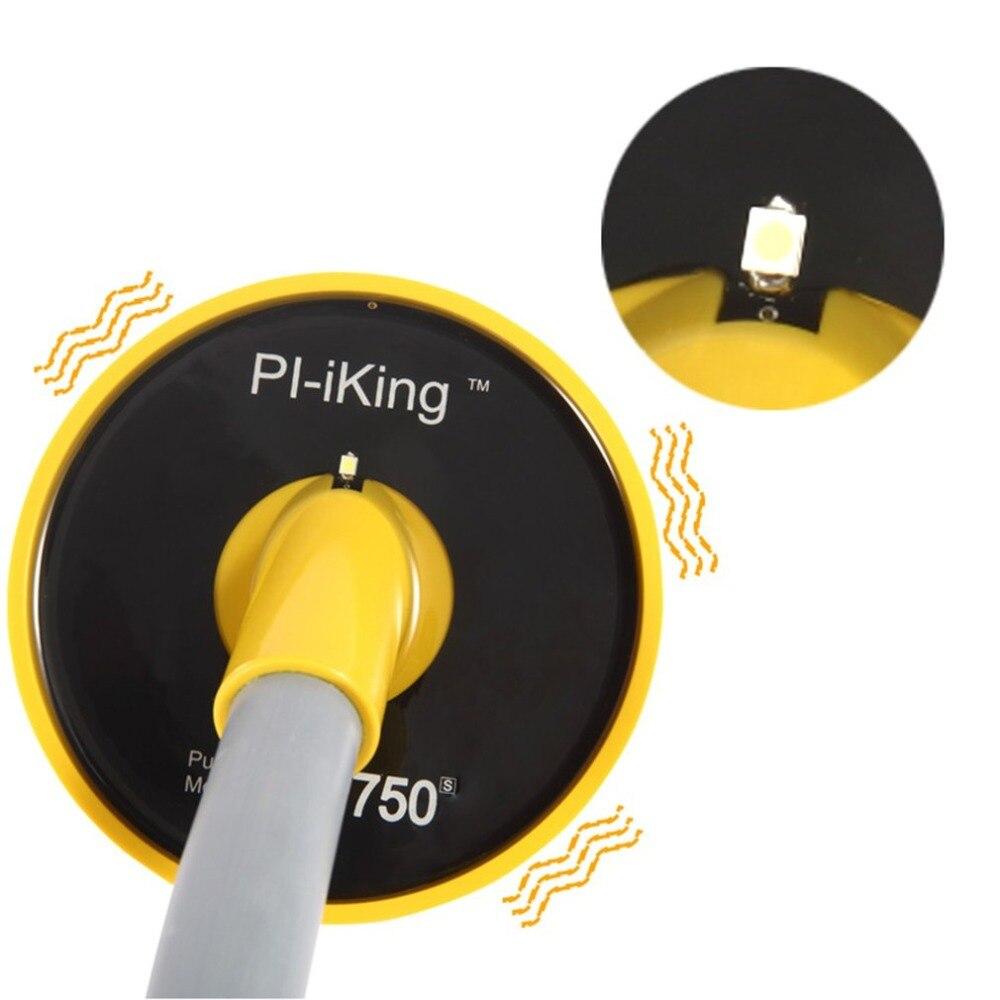 Détecteur de métaux pi-iking 750 30 m ciblant l'induction d'impulsion Pinpointer (PI) détecteur de métaux sous-marin vibrateur étanche - 5
