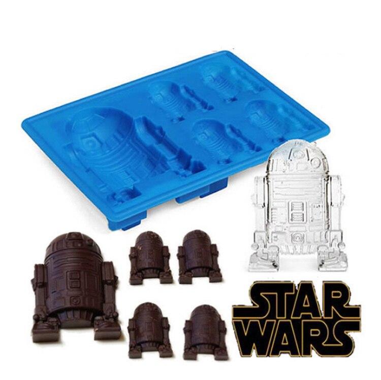 ღ Ƹ̵̡Ӝ̵̨̄Ʒ ღsilicone Star Wars R2d2 Ice ᗛ Cube Cube Mold