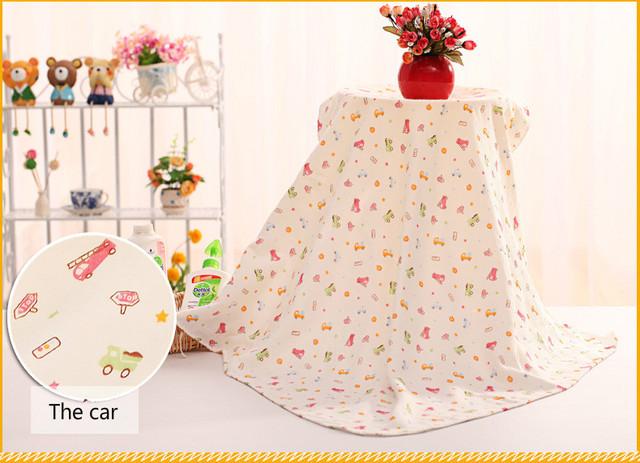 4 camadas 90*90 centímetros bebê towel algodão guardanapo de bain banho cobertor do bebê dos desenhos animados toalha de banho infantil toalhas de crianças pano
