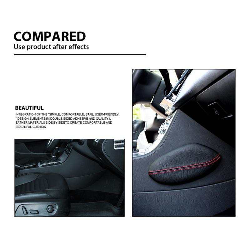 2018 Universal Car Seat Cushion Foot Support Pillow Leather Leg Cushion Knee Pad Thigh Support Pillow Interior Car Accessories2018 Universal Car Seat Cushion Foot Support Pillow Leather Leg Cushion Knee Pad Thigh Support Pillow Interior Car Accessories