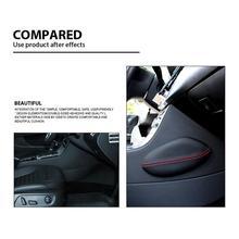 2018 Универсальная автомобильная подушка для сиденья для ног Кожаная подушка для ног наколенник для бедра подушка для интерьера автомобиля аксессуары