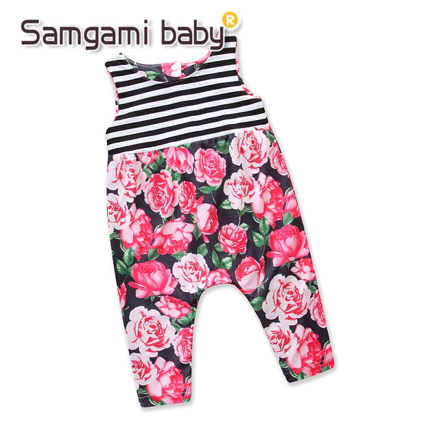 4fa025bcc first look 8394e dfe3a samgami baby summer rompers baby girls ...