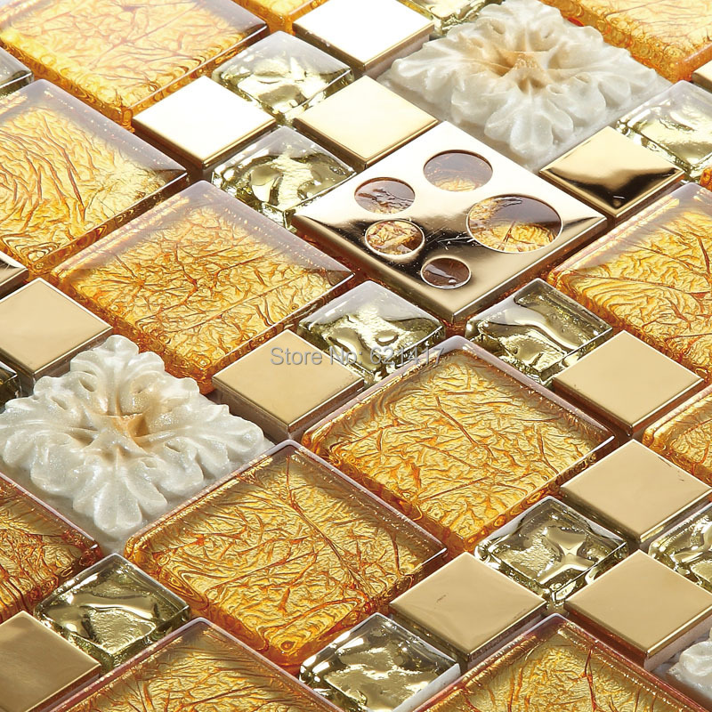 Cute 12 Inch Floor Tiles Thick 1930 Floor Tiles Square 2 Hour Fire Rated Ceiling Tiles 2X2 Floor Tile Youthful 2X4 Vinyl Ceiling Tiles Yellow3D Glass Tile Backsplash Yellow Carved Flower 3D Glass Stainless Steel Mosaic Tiles ..