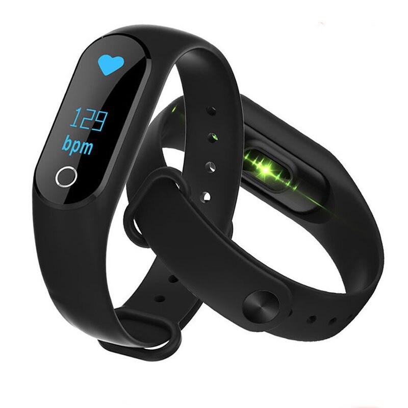 Cardiofrequenzimetro Intelligente di Pressione Sanguigna Orologio Inseguitore di Fitness Braccialetto Y2 più Monitor di Frequenza Cardiaca di Vibrazione di Allarme di Banda Orologio pk fitbits