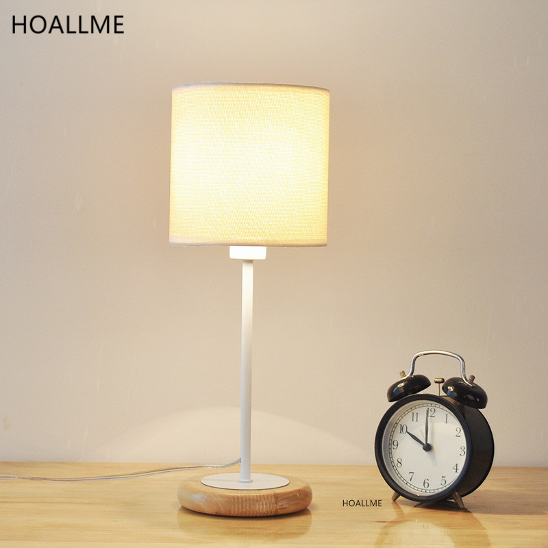 Lamps & Shades Honesty Creative Simple Table Lamp Bedroom Study Light Desk Bedside Lamps E27 Table Lights Indoor Lighting Night Light Desk Lamps