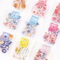 70 unids/lote (1 bolsa) DIY Kawaii lindo romántico corazón estrella artesanía y Scrapbooking adhesivo para decoración estudiante 552