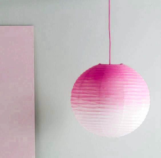 1pc Gradient Color Paper Lanterns Pastel Paper Lamp Shade for Wedding Birthday Showers Anniversaries Party Room Space Decor in Party DIY Decorations from Home Garden