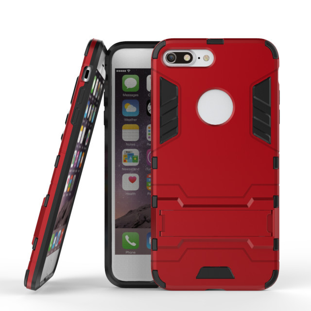 Phone Cases For iPhone 7 Plus Mechanical Style 2 in1 PC Case For Apple iPhone 6 6s 6 Plus 7 7 Plus Mobile Phone Back Cover