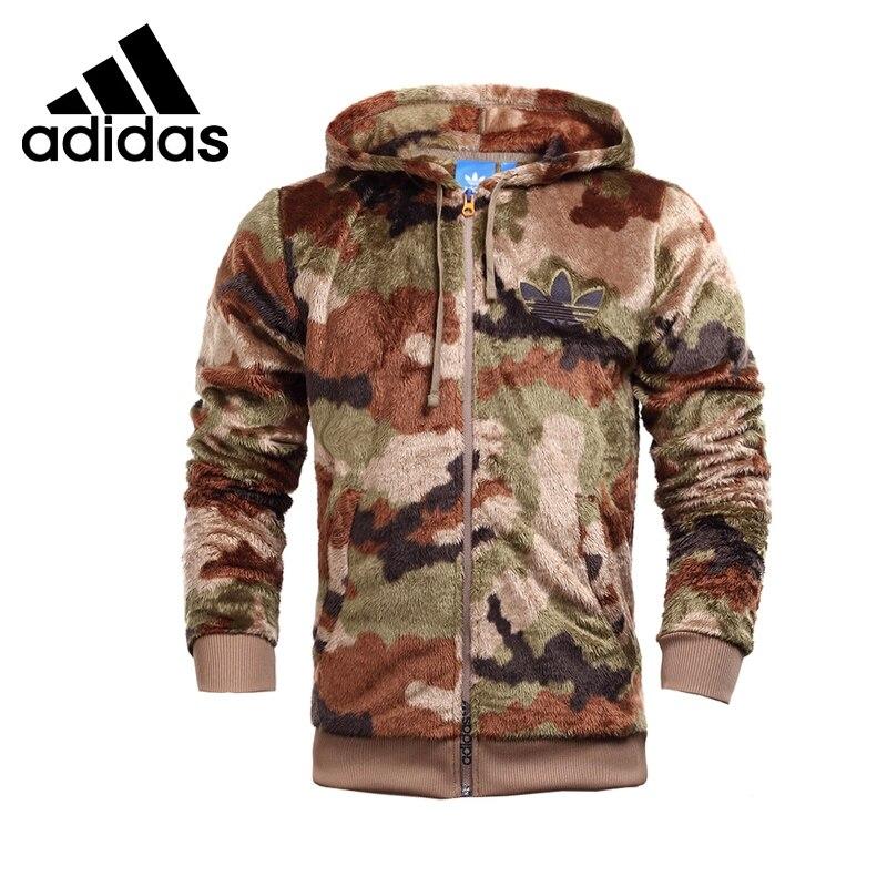 Original New Arrival  Adidas Originals Men's Warm Jacket Hooded Sportswear original new arrival adidas originals women s patchwork jacket hooded sportswear