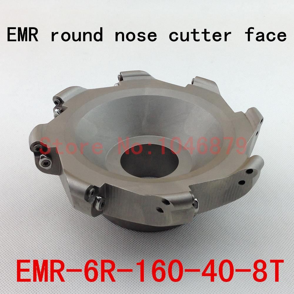 EMR round nose surface nc milling cutter, cnc milling cutter.EMR-6R-160-40-8T usb3 0 round type panel mounting usb connecter silver surface