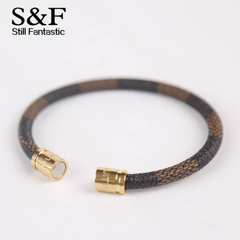 New Arrival Leather Bracelet Men Braceles