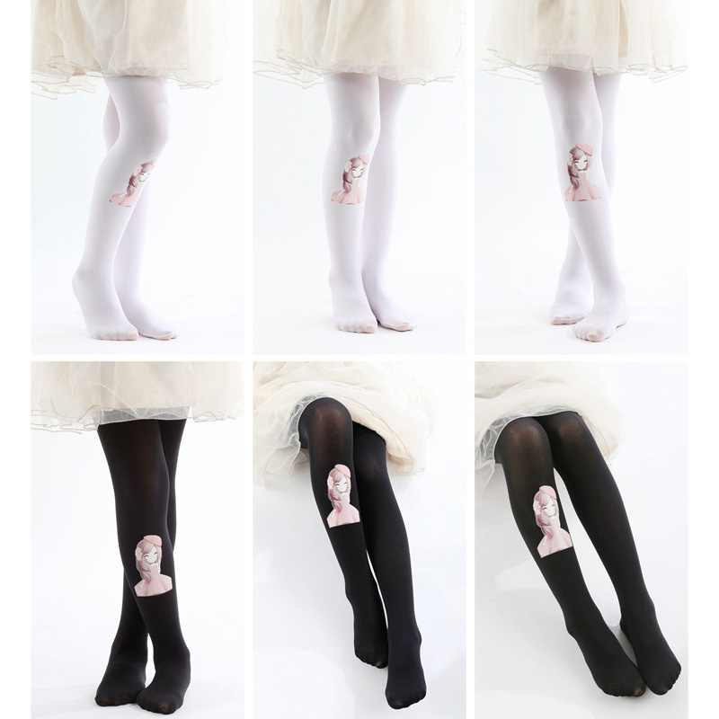 c23c9312116 Detail Feedback Questions about Hot Cute Children s Dance Cotton Print  Random Candy Colors Velvet Leggings Stockings 3 8T on Aliexpress.com