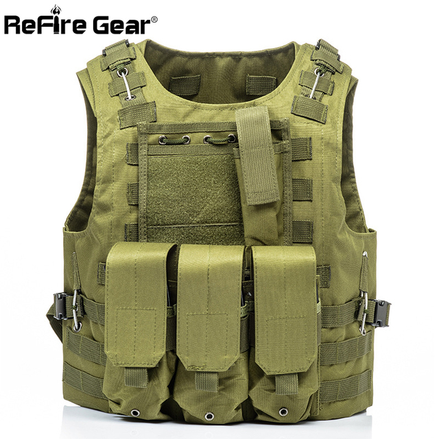 ReFire Gear Molle Army Combat Tactical Vest US Soldier