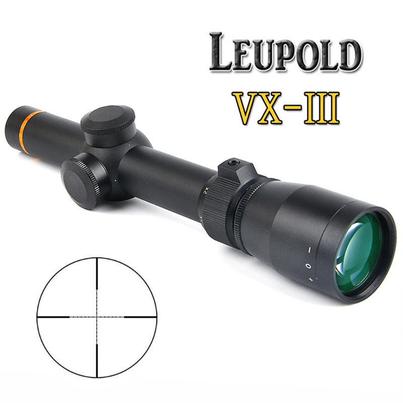 LEUPOLD 1.5-5X20 Tactical Riflescopes Mil-dot Optic Sight Rifle Scope for Sniper Rifle Hunting Caza w/ Mounts visionking opitcs 3 9x42 rifle scope mil dot tactical hunting long eye relief military sight 30mm for ar15 m16 m4 riflescopes