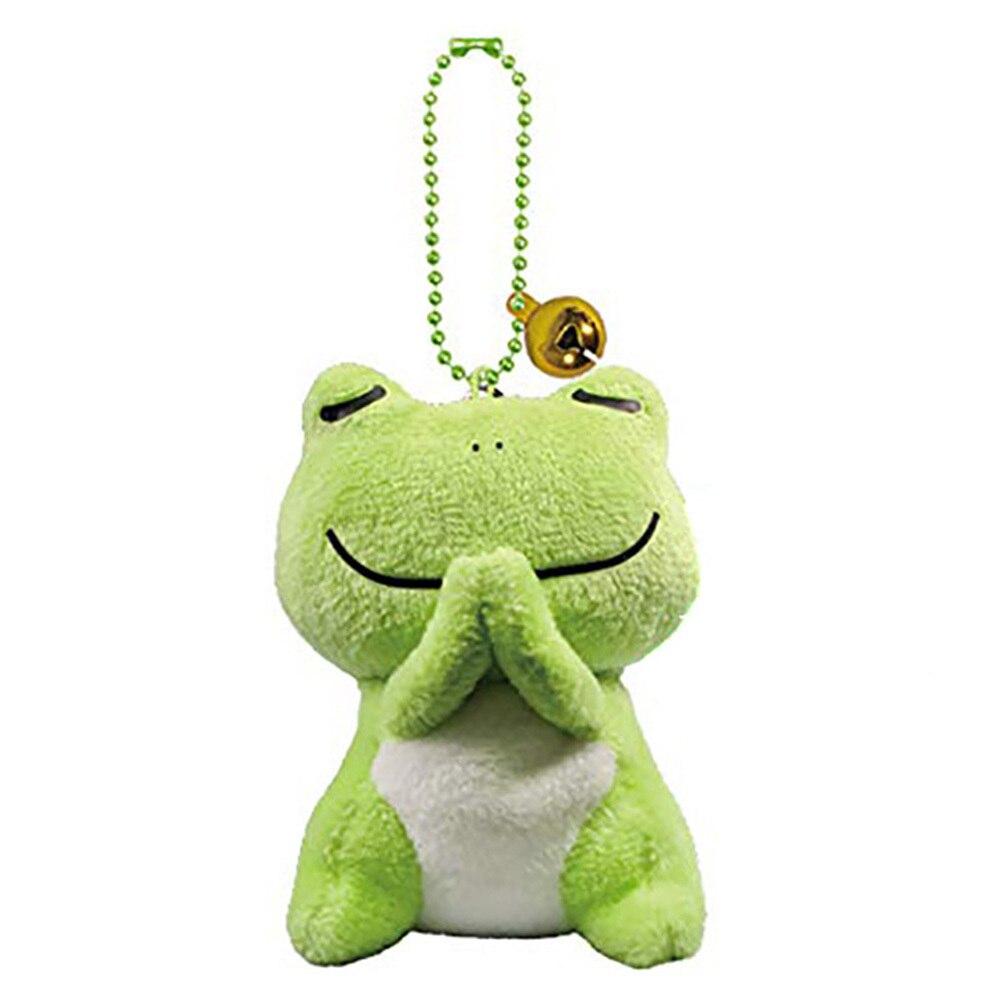 6 Styles 8 CM Animals Cartoon Penguin Key Chain Dolls Kids Stuffed Plush Toys Pendant For Children Gift