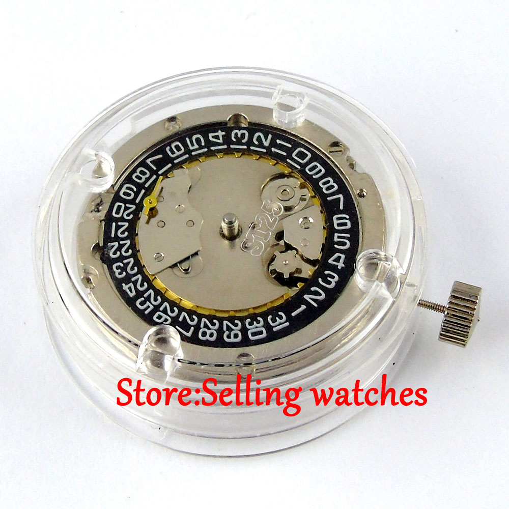 купить 2555 automatic mechanical mens classic watch movement по цене 2938.79 рублей