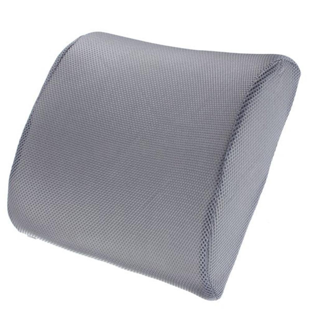 Fashion Lumbar Back Pillow Memory Foam Back Ache Pain Cushion Car SeaOffice Chair Orthopedic Seat Solution Cushion