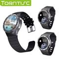 S99a torntisc v5.1 android smart watch phone support monitor de freqüência cardíaca do bluetooth wifi gps único cartão sim 3g relógio de pulso