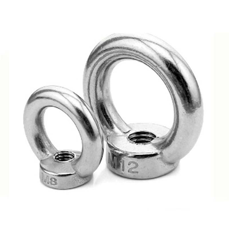 Image 2 - HCSSZP 5 Pieces Lifting Ring Nuts M6/M8/M10/M12/M16/M20 Marine Grade 304 Stainless Steel DIN582 Germany Standard Nut-in Marine Hardware from Automobiles & Motorcycles