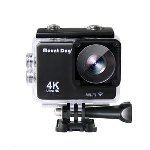 Image 4 - Ir pro acessórios ultra hd 4 k esporte ação câmera de vídeo wi fi 30fps 170d à prova dwaterproof água cam cabeça cinta peito cinto câmera gravador