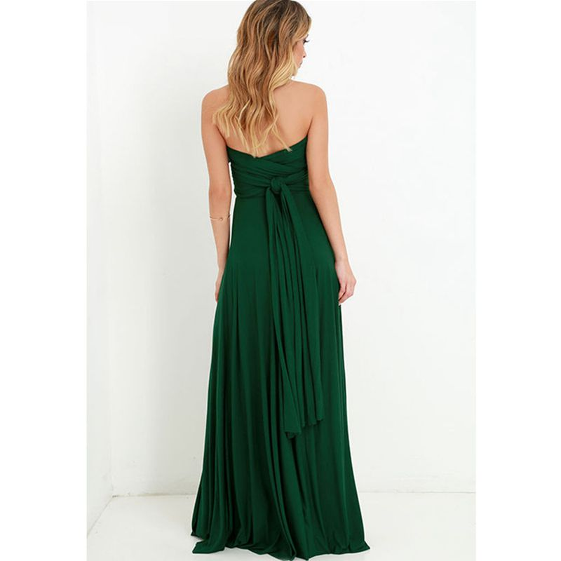 Women's Clothing ... Dresses ... 32803689384 ... 4 ... Dress Women 2020 Long Summer Convertible Bohemian Dresses Casual Bandage Evening Prom Club Party Infinity Multiway Maxi Dresses ...